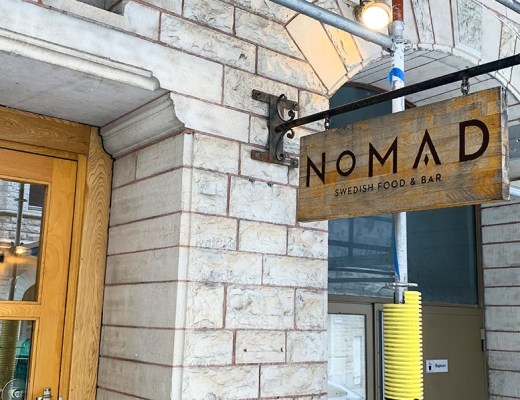 Nomad Swedish Food & Bar - voorgevel