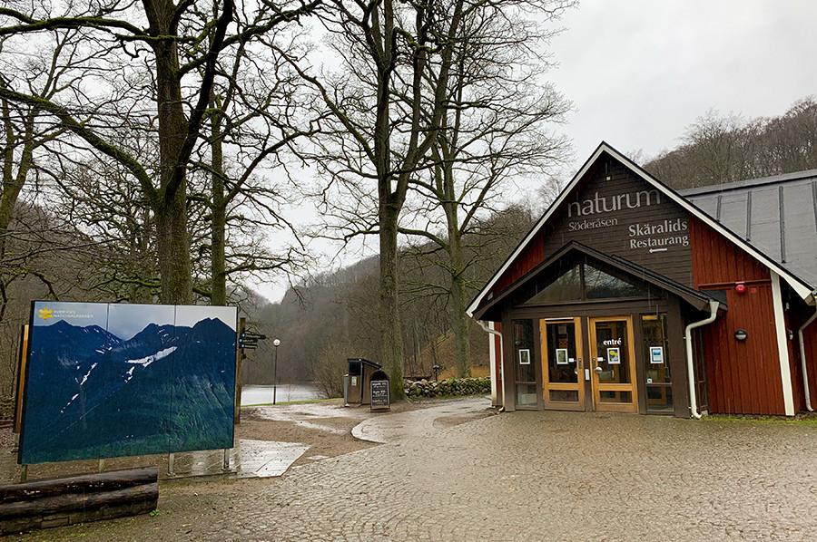 Entree Naturum in Skäralid