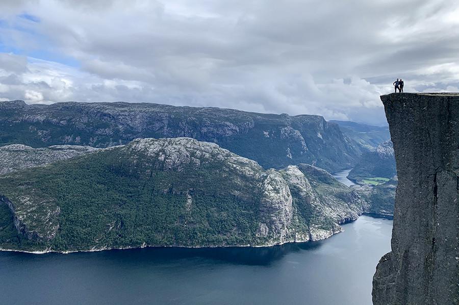 De wandeling naar Preikestolen in Noorwegen – mijn tips en ervaringen