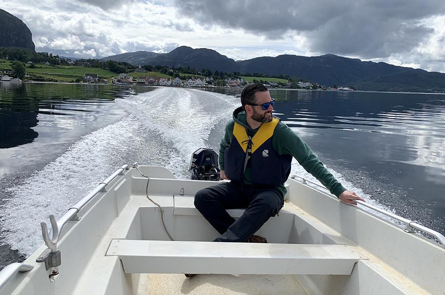 Varen door het Lysefjord - sommarmorgon.com