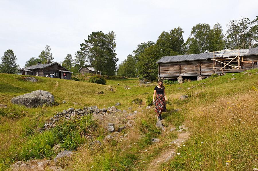 Maak kennis met de geschiedenis van de Bosfinnen in het Finnskogscentrum in Torsby (Värmland)