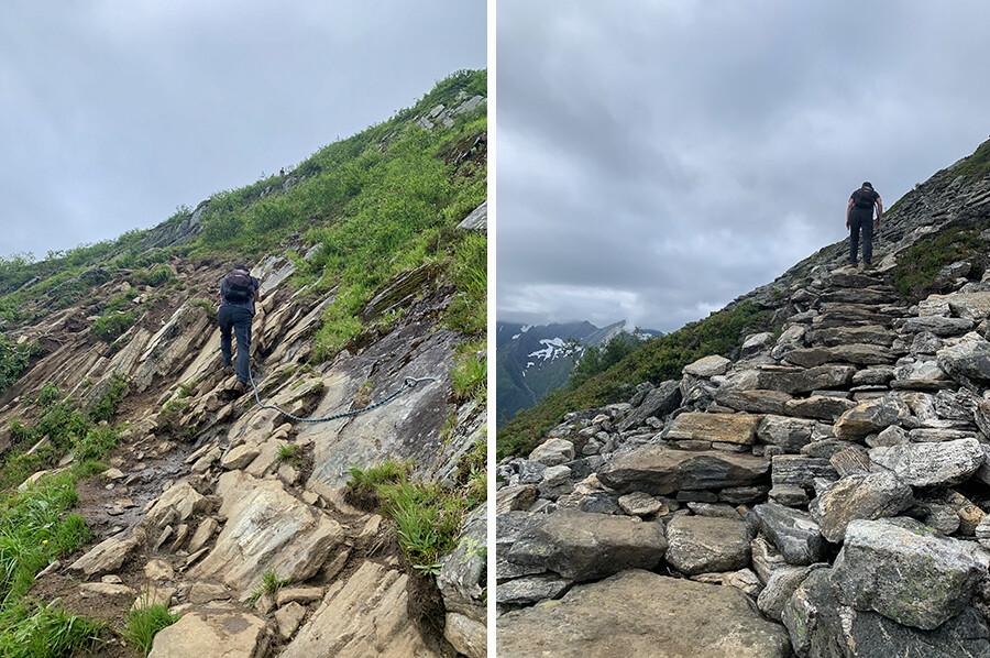 Hiken in de Sunnmore Alpen in Noorwegen - sommarmorgon.com