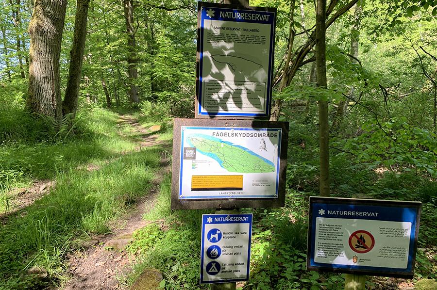 Wandelen in natuurreservaat Kullaberg