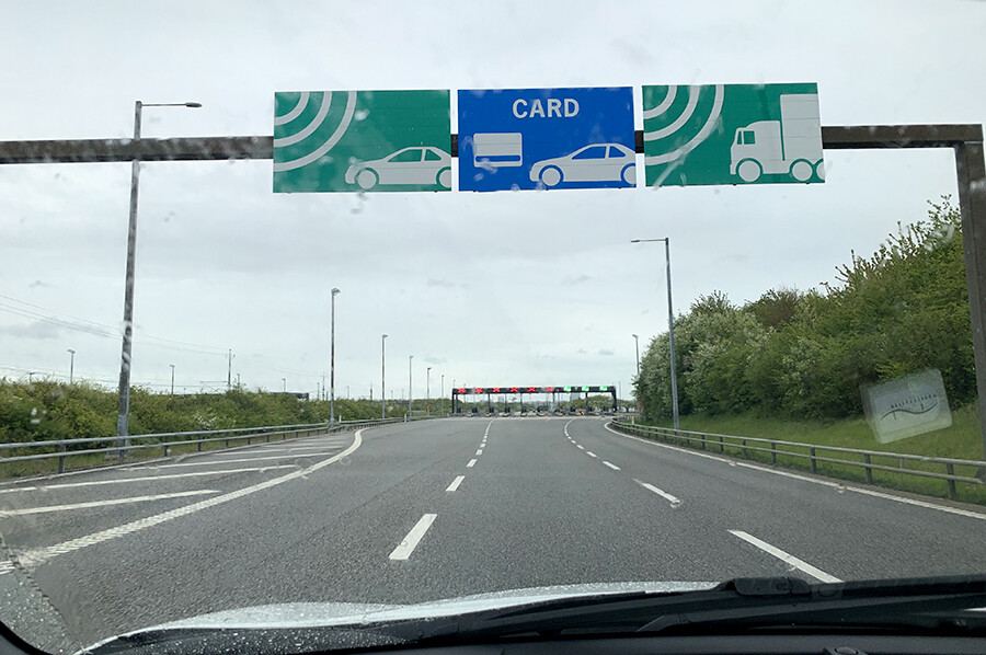 Tol betalen in Denemarken bij de Grote Beltbrug en de Sontbrug