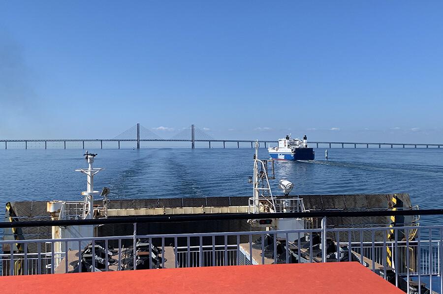 naar Zweden met de auto en de boot
