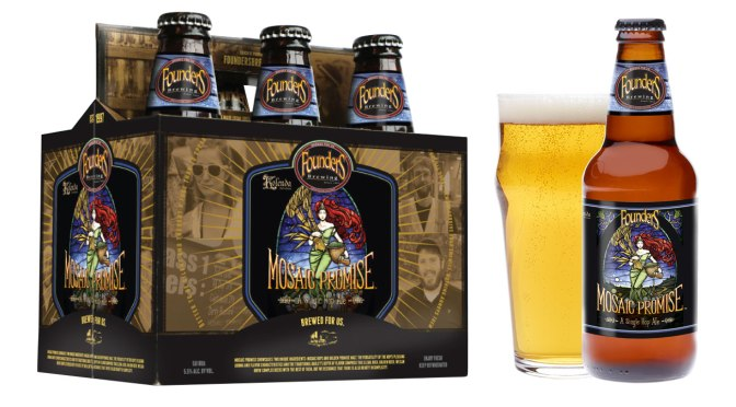 Founders Brewing Mosaic Promise