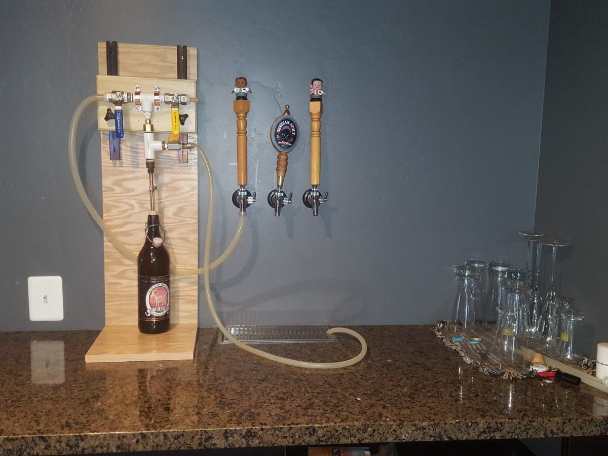 Build Your Own Counter Pressure Bottle Filler Updated