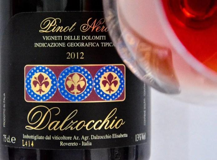 pinot nero dalzocchio 2012 sommelier life gourmet life