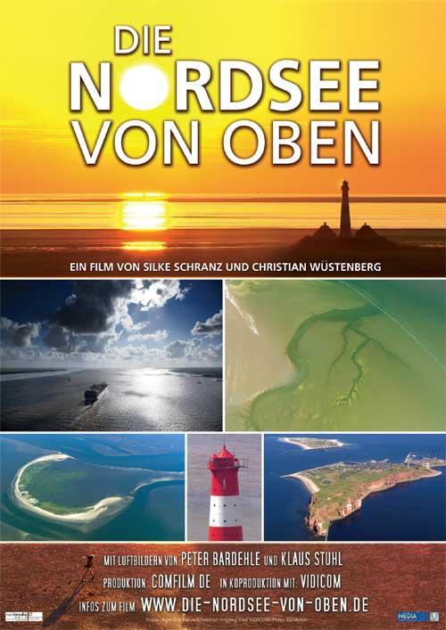 Die Nordsee von oben - Dokumentarfilm im Kino