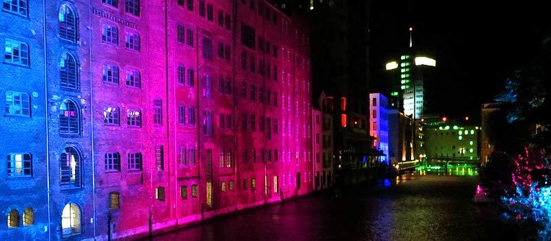 Nacht der Lichter in Hamburg Harburg
