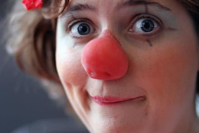 Charmante Clownerie mit Peppa Roni