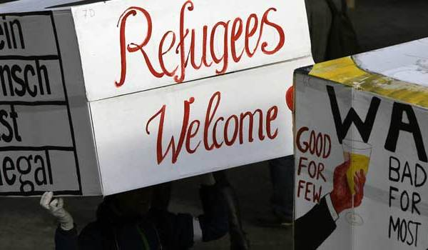 Refugees Welcome in Hamburg