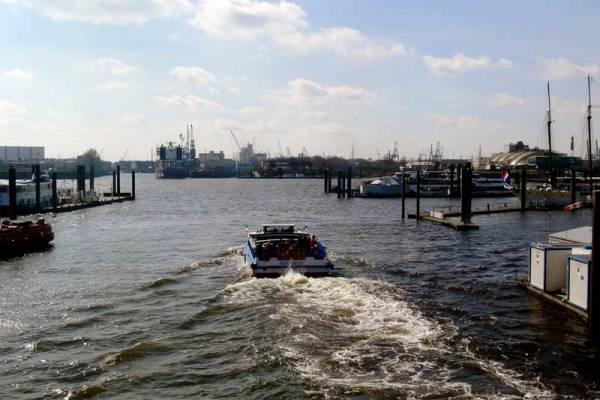 Kehrwiederspitze Hamburger Hafen