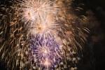 Kirschblütenfest: Feuerwerk über der Alster