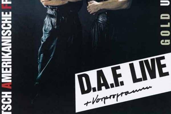DAF Plakat - MKG GenialeDilletanten Austellung