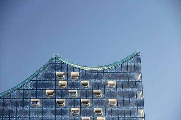 Spitze der Elbphilharmonie