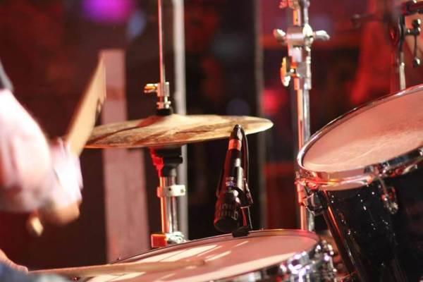 Drummer beim Reeperbahnfestival