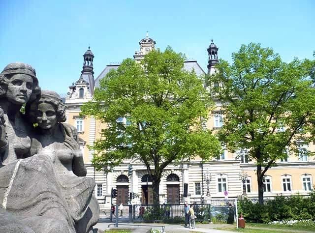 Justizgebäude in Hamburg