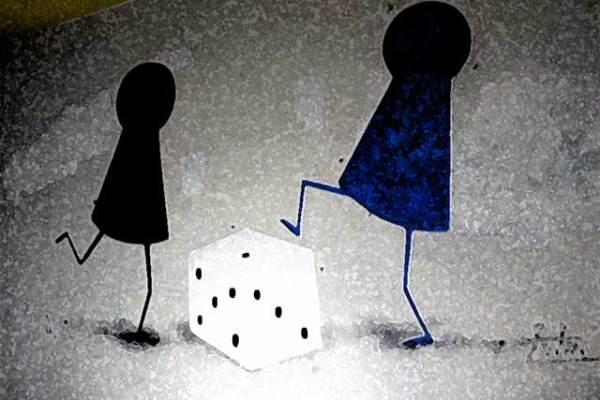 Glückspiel kann zur Sucht werden