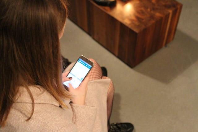 Messenger am Smartphone