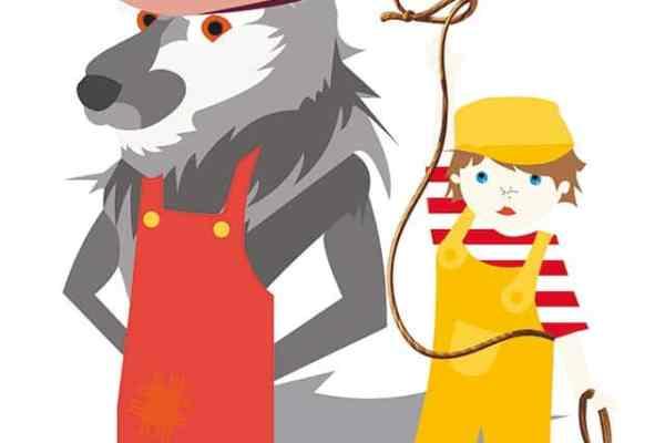 Peter und der Wolf von Lena Jelitto