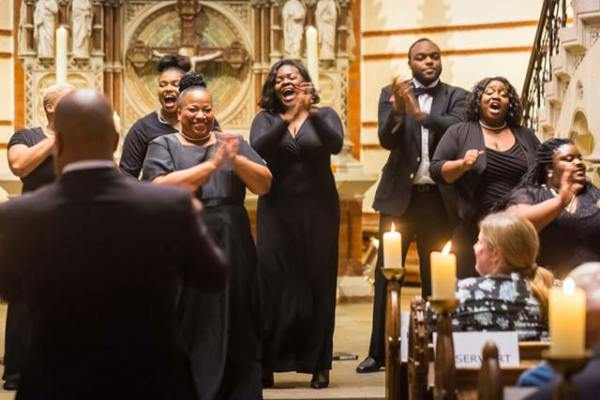 The Jeremy Winston Chorale - Copyright Martin Deja