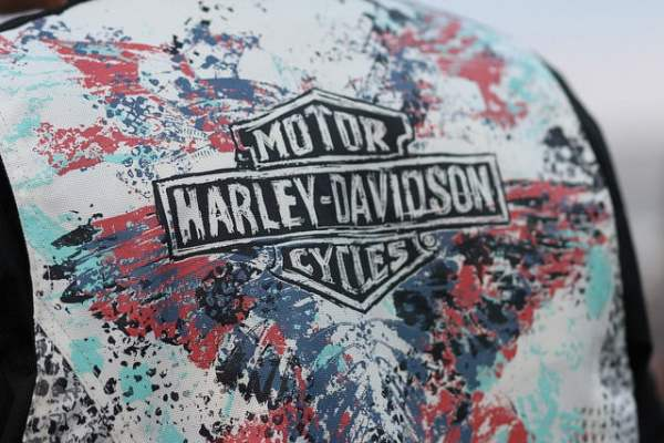Kutte auf den Hamburg Harley Days