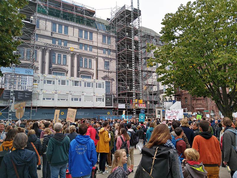 Klimastreik Jungfernstieg 20.9.2019