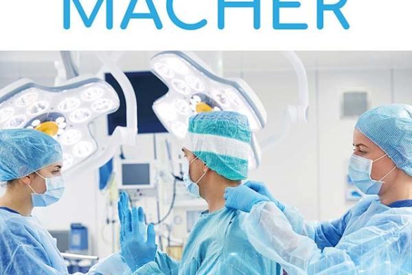 Cover: Die Kassemacher – Hinter den Kulissen einer Großstadt-Klinik