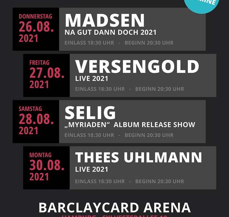 Restart Konzerte im Mai 2021