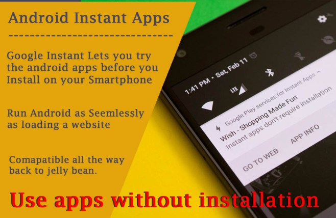 Test Android apps before installing Instant Apps on Play store