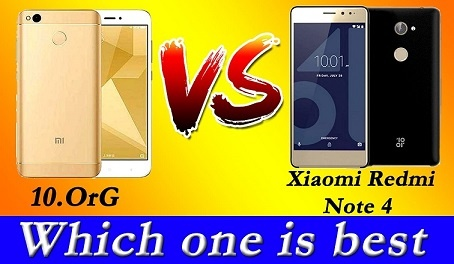 Redmi note 4 vs 10.Or G.