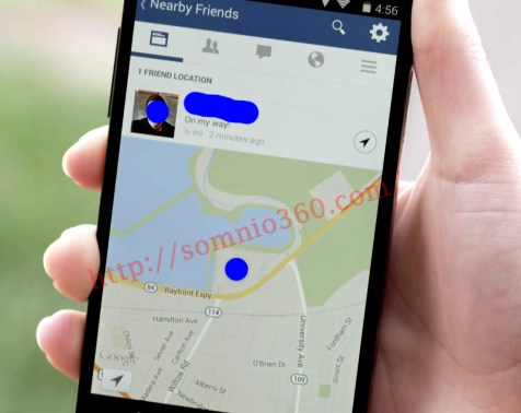 Live location Facebook