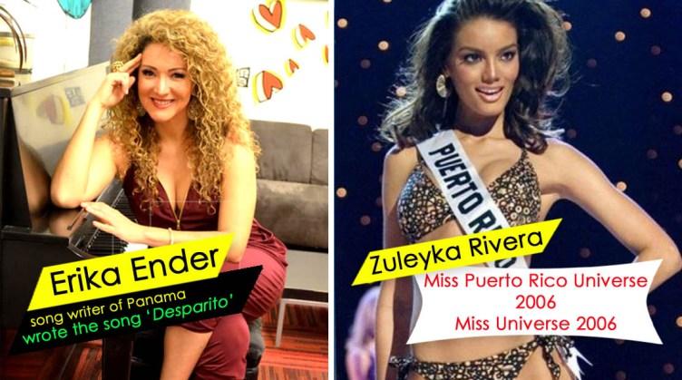 Zuleyka Rivera and Erika Ender despocito