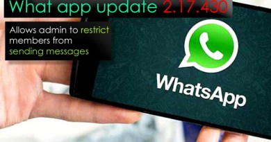 Whatapp update allows admin to restrict members from sending messages