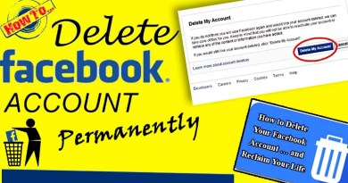 How to delete facebook permanently