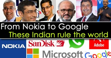 These are Name of Indian CEO of major Tech firms including Google and Nokia