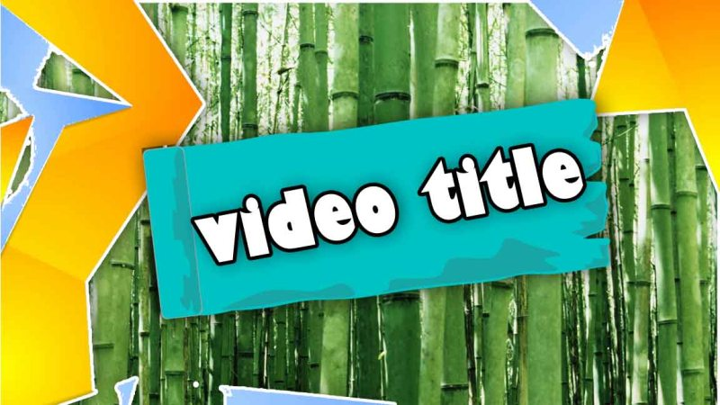 the five-minte crafs YouTube thumbnail template