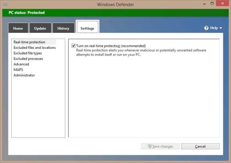 Windows Defender, a built-in Antivirus by Microsoft is free to use since release of Windows 8 and later