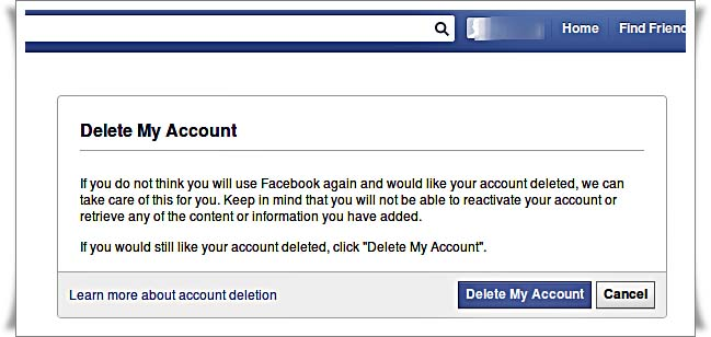 If for what ever reason you don't want to delete your Facebook permanentlyor don't want to quit Facebook