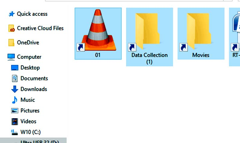 Malware infection_Lots of Unknown Shortcut