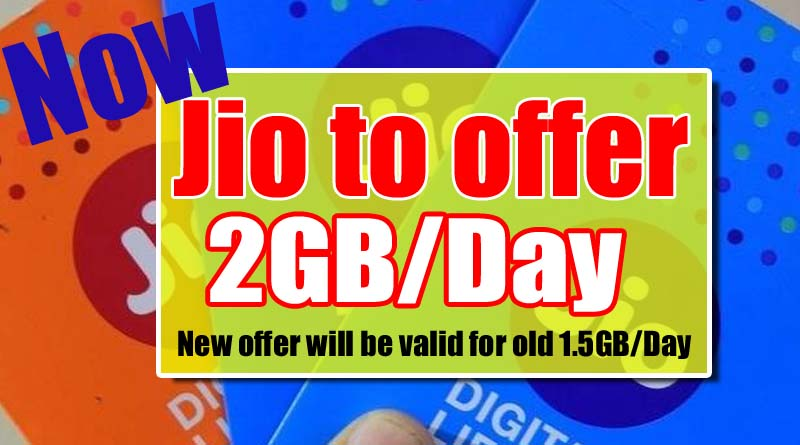 Jio 2b per day plan
