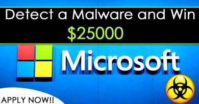 Microsoft Malware Detection Program Date, Process Reward