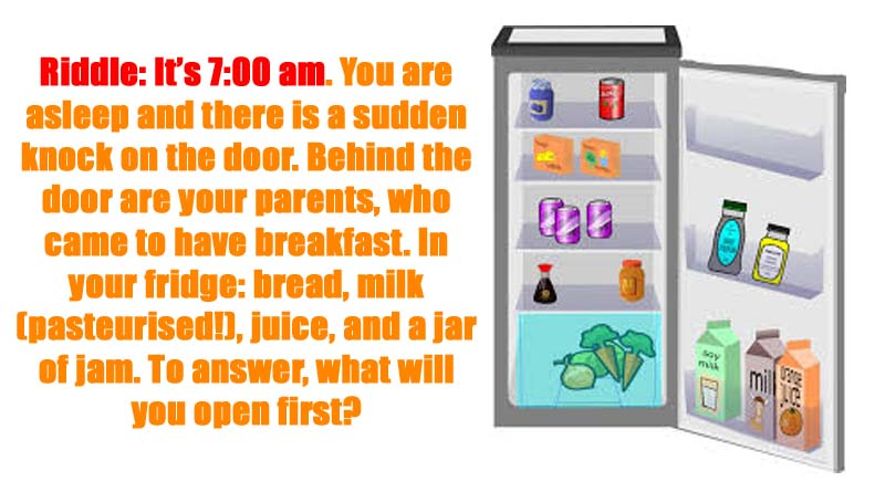 Riddle It's 7 00 am Answer