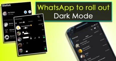 WhatsApp rolling out Dark Mode on Android and iOS