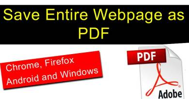 Save Web Page and Website as PDF