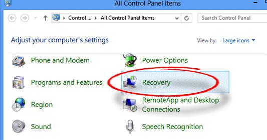 Windows-control-panel