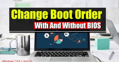 Change Boot Priority to Boot from USB- With and Without BIOS