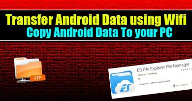 How to Transfer Data from Android to PC over Wifi with ES File Explorer