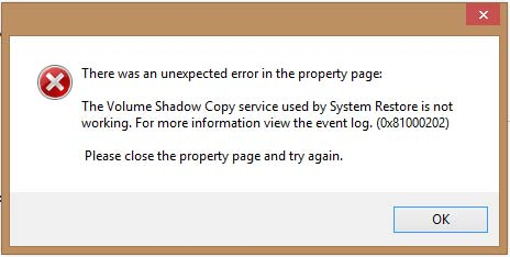 How To Enable Shadow Copy Service.